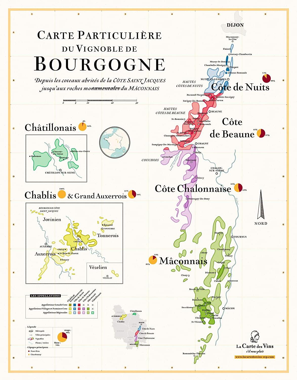 La Bourgogne, région vinicole de France par excellence, regorge de possibilités d'accord mets-vins