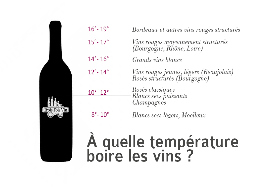 Read more about the article Les vins et leurs températures de service – Choisir Son Vin , du débutant à l'expert