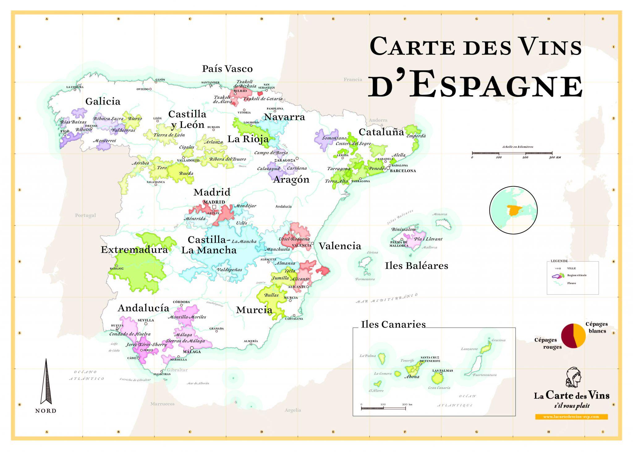 Read more about the article Les cépages espagnols